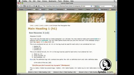 آموزش ساخت قالب سی سی اس-Creating a CSS Style Guide: Hands-On Training 2