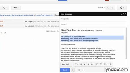 دانلود آموزش جی میل - Gmail Essential Training 2