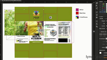 آموزش طراحی بسته بندی با ایلستریتور - Package Design with Illustrator 2