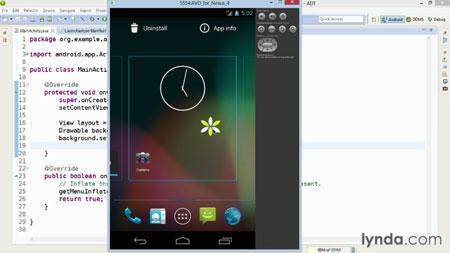 دانلود آموزش اندروید sdk - Android SDK Essential Training 3