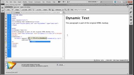 دانلود آموزش html و css و jQuery با ادوبی دریم ویور سی اس 5/5- HTML5, CSS3, and jQuery with Adobe Dreamweaver CS5.5 2