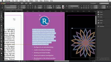 آموزش ایندیزاین سی سی - InDesign CC Essential Training 1