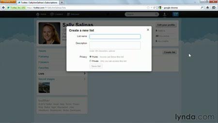 دانلود آموزش تویتر - Twitter Essential Training 3
