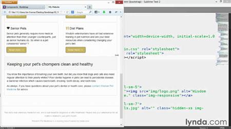 دانلود آموزش بوت استرپ 3 - Up and Running with Bootstrap 3 3