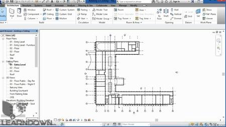 دانلود آموزش پیشرفته رویت ارشیتکت 2015 - Advanced Revit Architecture 2015 Training Video-2