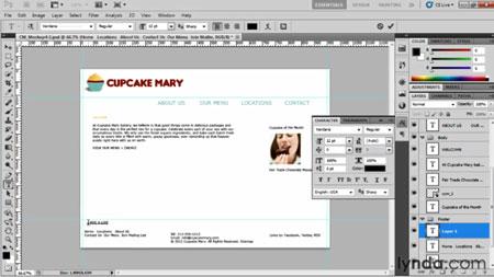 دانلود آموزش طراحی وبسایت از فتوشاپ در دریم ویور - Designing Web Sites from Photoshop to Dreamweaver-2