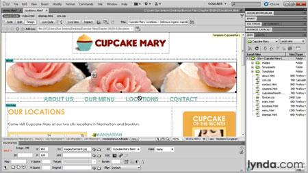 دانلود آموزش طراحی وبسایت از فتوشاپ در دریم ویور - Designing Web Sites from Photoshop to Dreamweaver-3