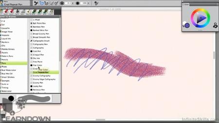 دانلود آموزش کورل پینت ایکس 3 - Learning Corel Painter X3 Training Video 3