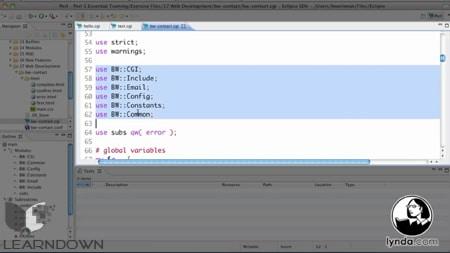 دانلود آموزش پرل 5 - Perl 5 Essential Training-3