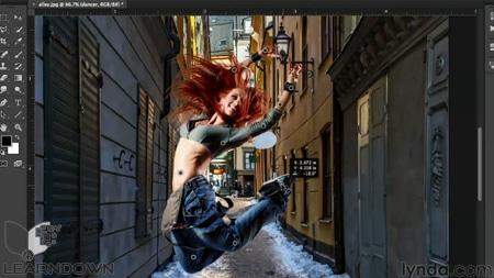 دانلود آموزش پرسپکتیو در فتوشاپ - Working with Perspective in Photoshop-3