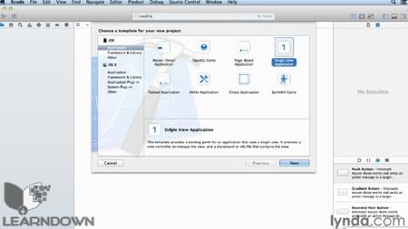 آموزش گسترش اپلیکیشن های ای او اس - iOS App Development Essential Training 2