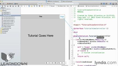 آموزش گسترش اپلیکیشن های ای او اس - iOS App Development Essential Training 3