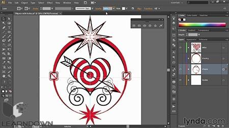 دانلود آموزش ایلستریتور قدم به قدم : مبانی - Illustrator CC 2014 One-on-One: Fundamentals 2