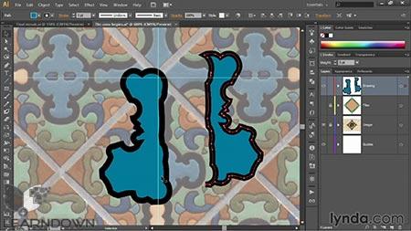 دانلود آموزش ایلستریتور قدم به قدم : مبانی - Illustrator CC 2014 One-on-One: Fundamentals 3