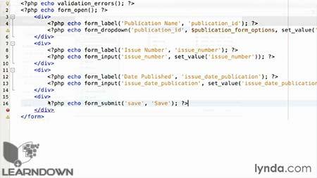دانلود آموزش پی اچ پی کدایگنایتر - Learning PHP CodeIgniter 2013 3