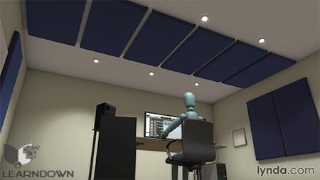 دانلود آموزش نصب استودیو موزیک و آکوستیک - Music Studio Setup and Acoustics 2
