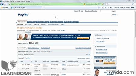 دانلود آموزش پی پال - PayPal Essential Training