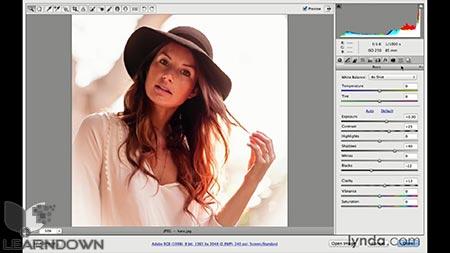 دانلود آموزش فتوشاپ برای عکاسان : کمرا راو 8 - Photoshop CC for Photographers: Camera Raw 8 Intermediate 2