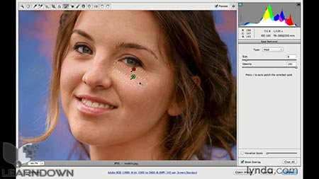 دانلود آموزش فتوشاپ برای عکاسان : کمرا راو 8 - Photoshop CC for Photographers: Camera Raw 8 Intermediate 3