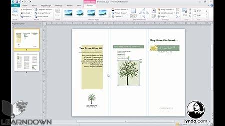 دانلود آموزش پابلیشر 2010 - Publisher 2010 Essential Training 3