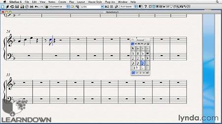 دانلود آموزش سیبلیوس 6 - Sibelius 6 Essential Training 2