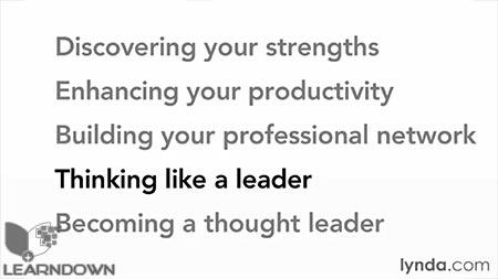 دانلود آموزش فکر کردن مانند یک رهبر - Thinking Like a Leader 2