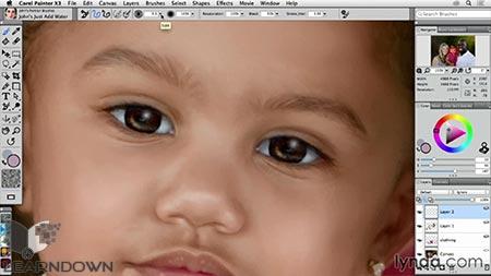 دانلود آموزش انتقال نقاشی دیجیتال به فتوشاپ - Transforming a Portrait Into a Painting in Photoshop 3
