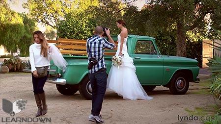 دانلود آموزش عکاسی عروسی: پرتره عروس - Wedding Photography: Bridal Portraits 2