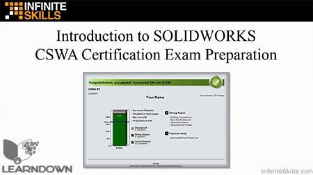 دانلود آموزش سالیدورک (امتحان گواهینامه سالیدورک)- Certified SolidWorks Associate (CSWA) Exam Training 2