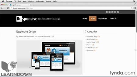دانلود آموزش دروپال: طراحی واکنشگر - Drupal Responsive Design 2