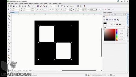 دانلود آموزش شروع کار با کورل دراو   Getting Started With CorelDRAW 2
