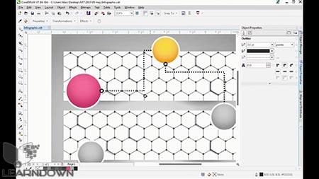 دانلود آموزش شروع کار با کورل دراو   Getting Started With CorelDRAW 3