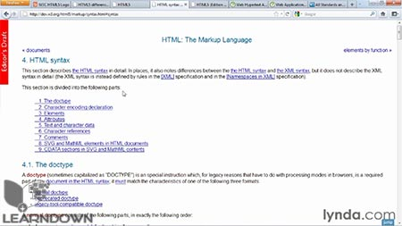 دانلود آموزش اچ تی ام ال 5 ساختار، ترکیب و معناشناسی - HTML5: Structure, Syntax, and Semantics 3