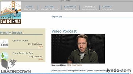 دانلود آموزش اچ تی ام ال 5: ویدئو و صدا - HTML5: Video and Audio 3