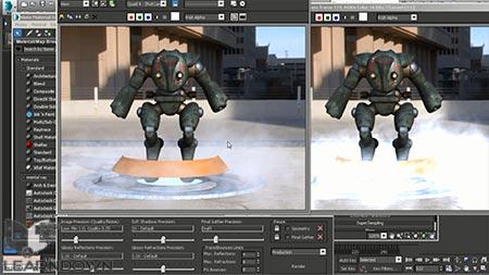 دانلود آموزش مقدمه ی بر تری دی استدیو مکس| Introduction to 3ds Max 2015 Photoshop 3