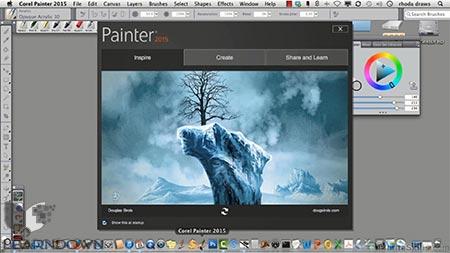 دانلود آموزش کورل پینتر 2015 | Learning Corel Painter 2015 2