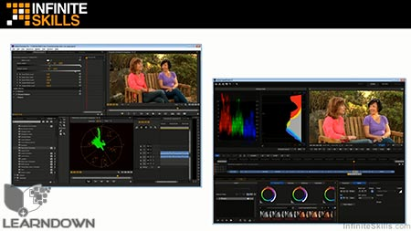 دانلود آموزش اصلاح رنگ در پریمیر پرو و اسپید گرید - Learning SpeedGrade and Premiere Pro Color Correction 2
