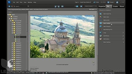 دانلود آموزش فتوشاپ المنت 10- Photoshop Elements 10 Essential Training 3