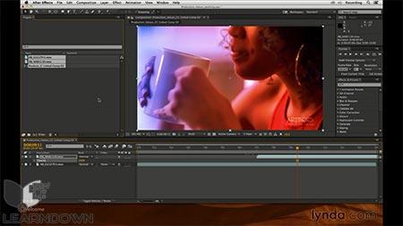 دانلود آموزش پریمیر پرو و افتر افکت : افزایش ارزش محصول -Premiere Pro and After Effects Enhancing Production Value 2