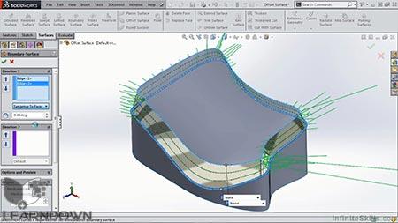 دانلود آموزش سالیدورک – مبانی سورفیسینگ   SolidWorks - Surfacing Fundamentals 3