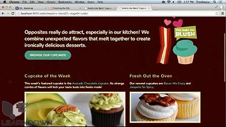 دانلود آموزش ساخت وبسایت به وسیله بوت استرپ 3  Building Websites with Bootstrap 3 3
