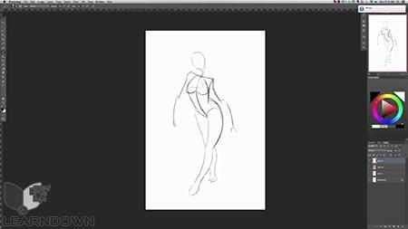 دانلود آموزش طراحی حرفه ی کاراکتر در فتوشاپ | Create Professional Character Designs in Photoshop 3