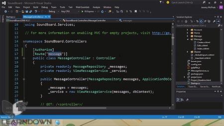 دانلود آموزش شروع با ای اس پی دات نت ام وی سی 6 | Get Started with ASP.NET MVC 6 3