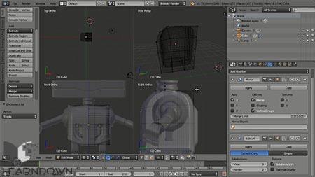 دانلود آموزش مدل سازی در بلندر | Introduction to Modeling in Blender 3
