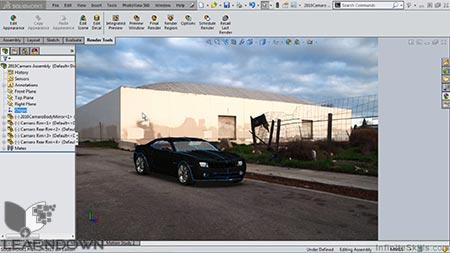 دانلود آموزش پیشرفته سالیدورک 2015 – رندرینگ و تجسم - Mastering SolidWorks 2015 - Rendering and Visualization 3