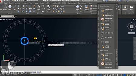 دانلود آموزش استادی در ابزار های Palette در اتوکد | Mastering the Tools Palette in AutoCAD 2