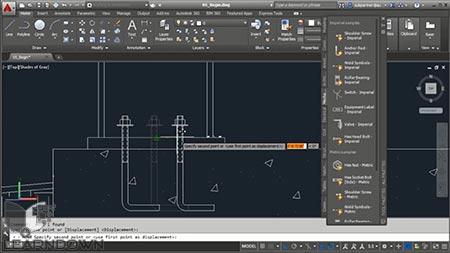 دانلود آموزش استادی در ابزار های Palette در اتوکد | Mastering the Tools Palette in AutoCAD 3