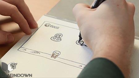 دانلود آموزش طراحی بازی موبایل   Mobile Game Design 3