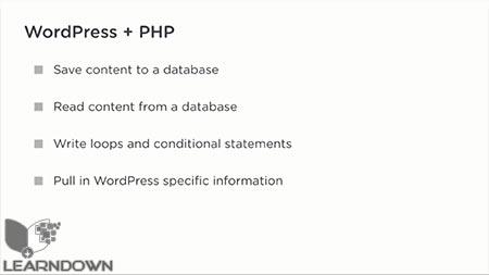 دانلود آموزش پی اچ پی برای وردپرس | PHP for WordPress 2