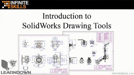 دانلود آموزش سالیدورک - ابزارهای رسم | SolidWorks - Drawing Tools 2